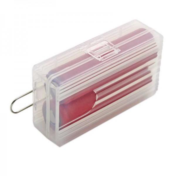 Soshine Batteriebox 2x 18650 Soshine SBC-025 (L x B x H) 74 x 44.6 x 22.2 mm