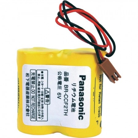 Panasonic Li-Ion Spezialakkupack BRCCF2TH mit Stecker 6 V 5000 mAh