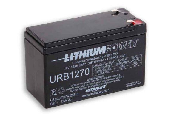 Ultralife Lithium - Eisen - Phosphat Batterien URB1270
