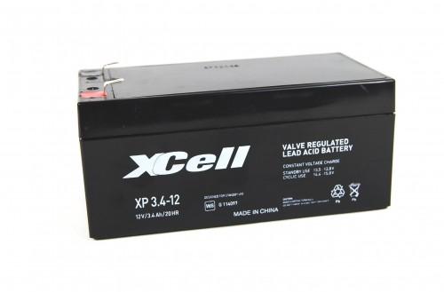 XCELL XP 3.4-12 Bleiakku