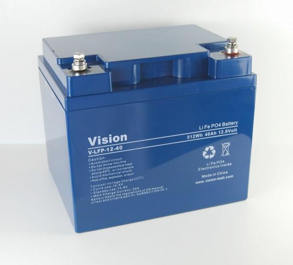 Vision LiFePo4 Batterie LFP1240