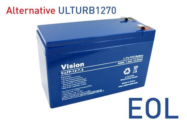 Vision LiFePo4 Batterie LFP127.5