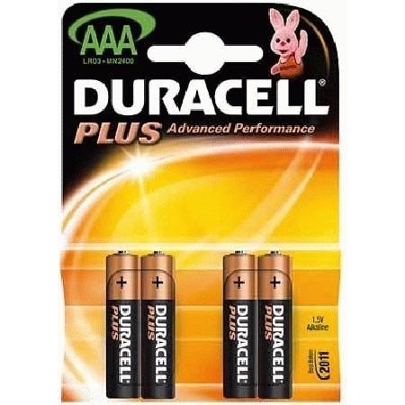 Duracell Plus Power Alkaline Batterie MN2400 Blister
