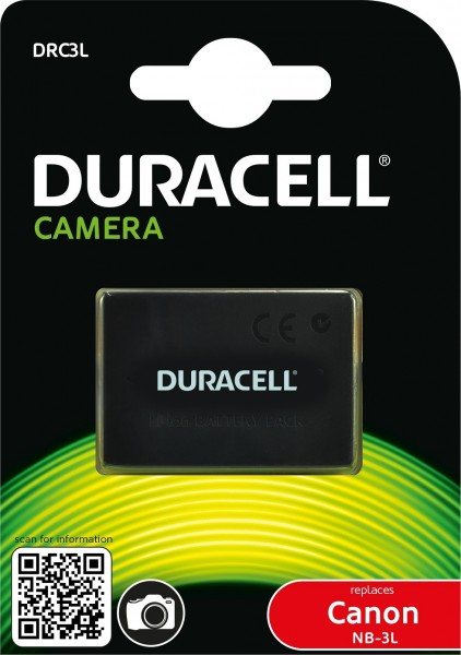 Duracell Digitalkamera und Camcorder Ersatzakku passend fürDRC3L