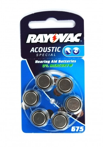 Rayovac Hörgeräte-Batterie 675AC