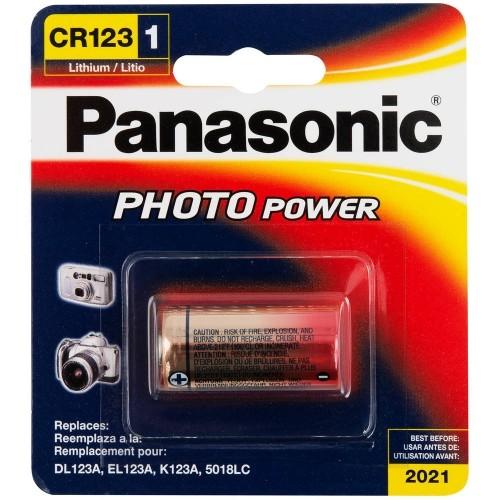 Panasonic Lithium Rundzelle CR123A