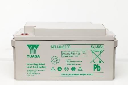 Yuasa NPL 130-6 Bleiakku