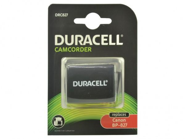 Duracell Digitalkamera und Camcorder Ersatzkku -passend für BP-827