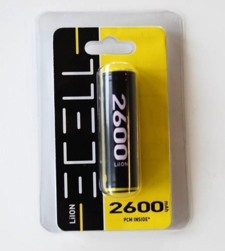 ECELL 18650 LiIon incl. PCB 3,7V/2600mAh im Blister