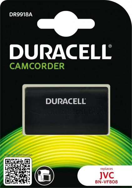 Duracell Digitalkamera und Camcorder Ersatzakku passend für BN-VF808