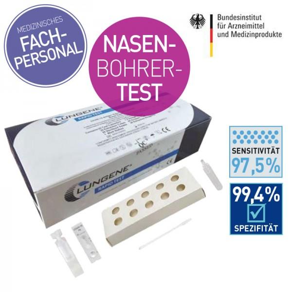CLUNGENE COVID-19 Antigen Nasal Swap Schnelltest/Nasenbohrer (25)
