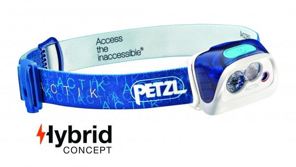 Petzl Classic Stirnlampe ACTIK BLAU