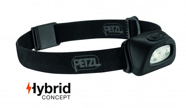 Petzl Stirnlampe TACTIKKA + RGBSCHWARZ
