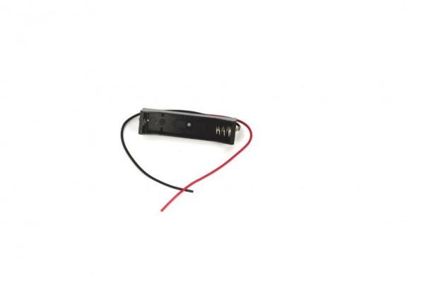 Batteriehalter mit Kabel für 1x AAA