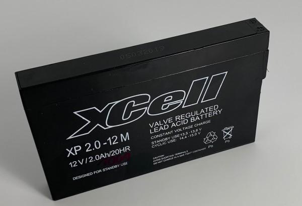 XCELL 2-12 Bleiakku