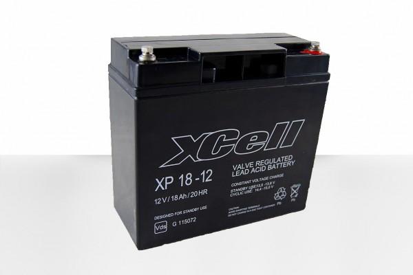 XCELL XP 18-12 Bleiakku