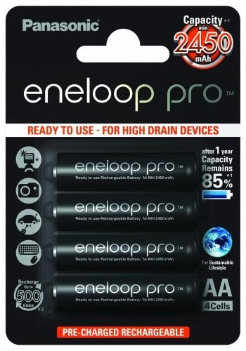 Panasonic eneloop pro 3HCCE AA 4er Blister