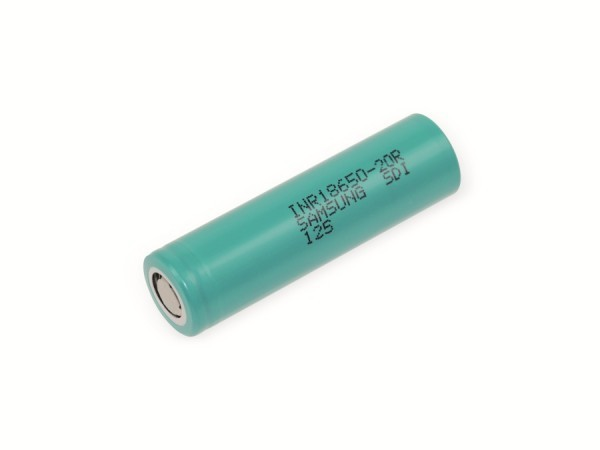 Samsung LI-ION Rundzelle INR18650-20R