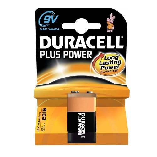 Duracell Plus Power Alkaline Batterie MN1604 Blister