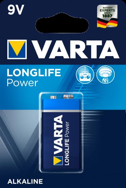 Varta Longlife Power Batterie 4922 / Blister