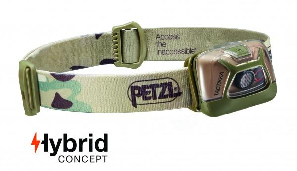 Petzl Classic Stirnlampe TACTIKKA CAMO
