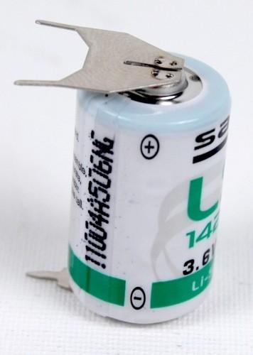 Saft Lithium Rundzelle LS 14250 3PF