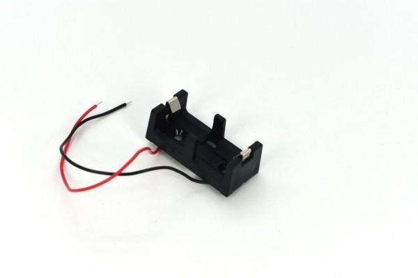 Batteriehalter für CR123A mit Kabel