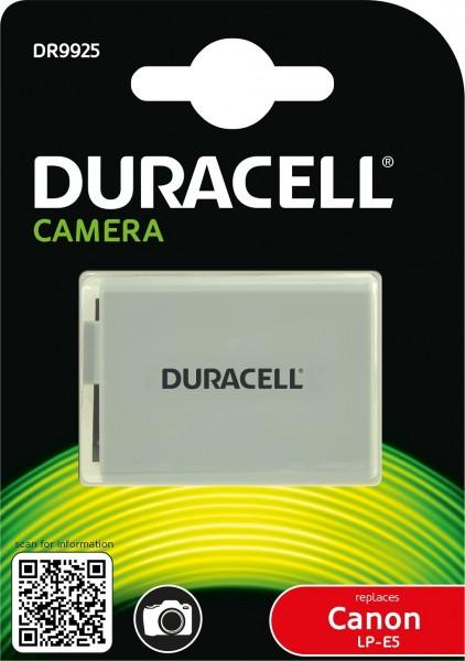 Duracell Digitalkamera und Camcorder ERsatzakku passend für LP-E5