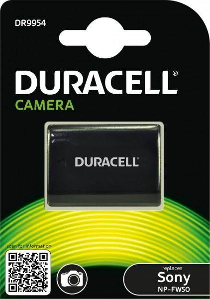 Duracell Digitalkamera und Camcorder Ersatzakku passend für NP-FW50