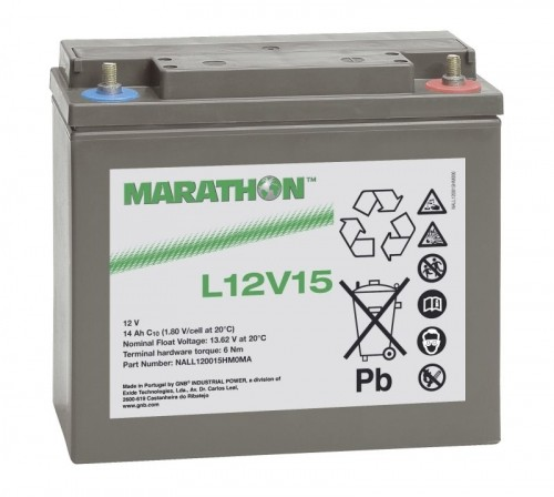 Exide Marathon Bleiakku L12V15