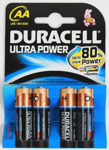 Duracell Ultra Power Alkaline Batterie MX1500