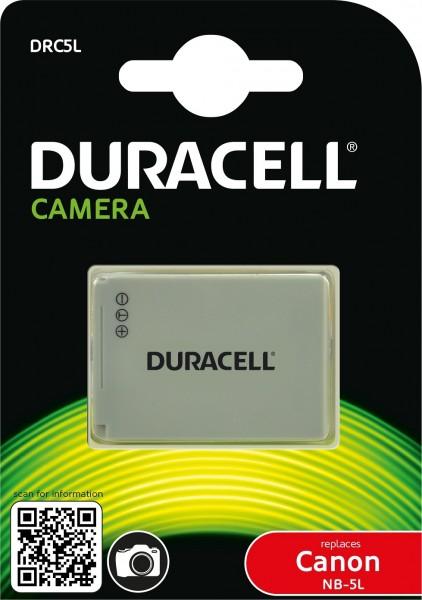 Duracell Digitalkamera und Camcorder Ersatzakku passend für NB-5L