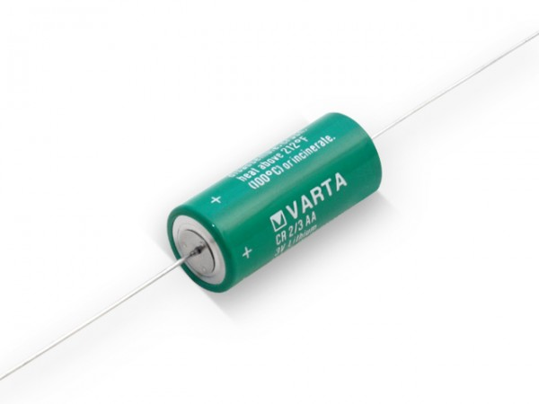 Varta Lithium Rundzelle CR 2/3 AACD axial
