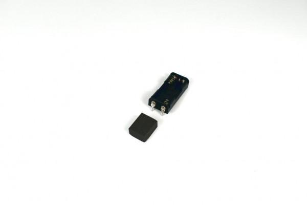 Batteriehalter mit 2 Pins für 2x AAA