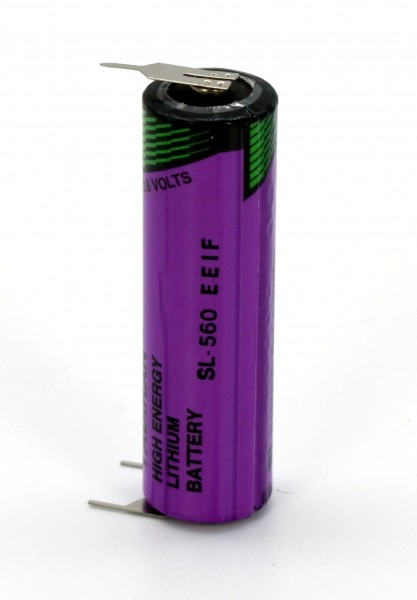 Tadiran Hochtemperatur Lithium Rundzelle SL-560PT