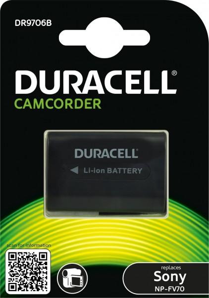 Duracell Digitalkamera und Camcorder Ersatzakku passend für NP-FV70