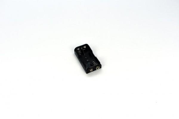 Batteriehalter mit Snap-Terminal für 2x AA