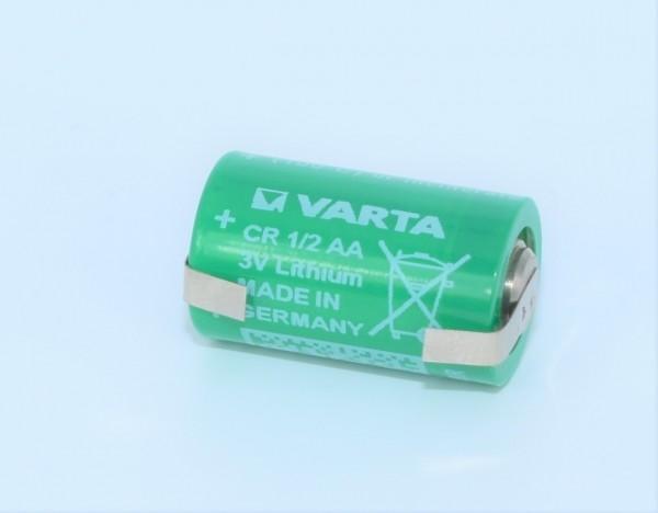 Varta Lithium Rundzelle CR1/2AALF mit Lötfahnen