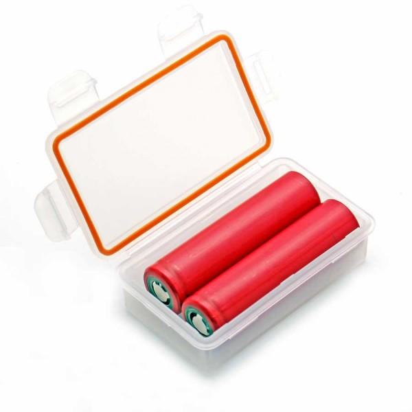 Soshine Batteriebox 2x 18650 Soshine SBC-W1, IP66 (L x B x H) 84 x 50 x 24 mm