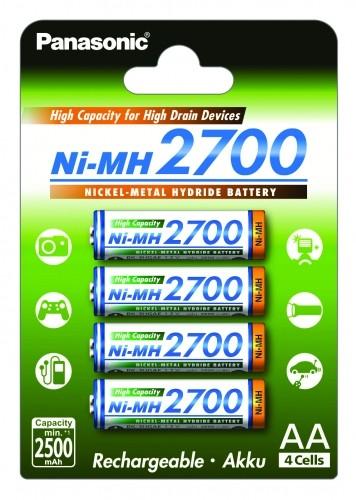 Panasonic Consumer System HR3U 2700 mAh 4er Blister