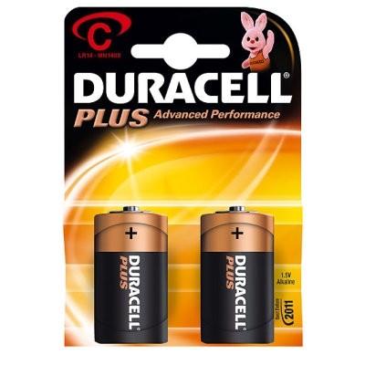 Duracell Plus Power Alkaline Batterie MN1400 Blister