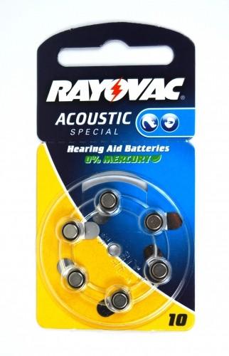 Rayovac Hörgeräte-Batterie 10AC