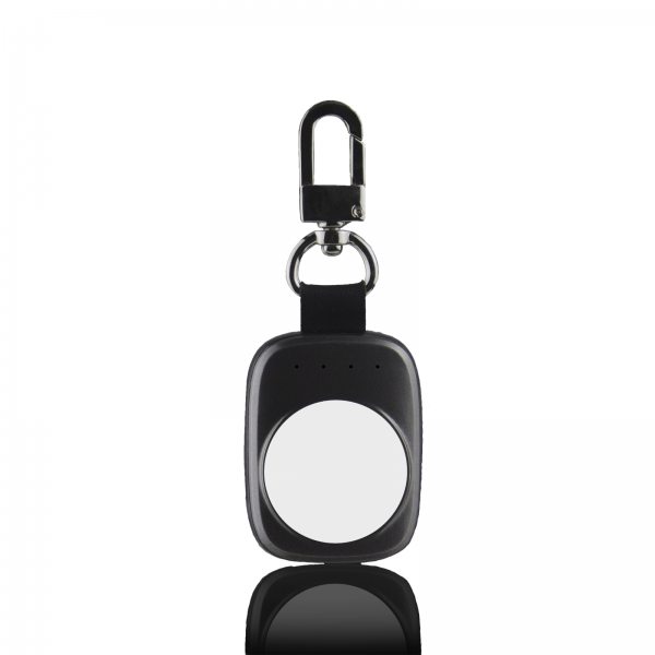Powerbank Schlüsselanhänger für die APPLE Watch 1 & 2 (Space Grey)
