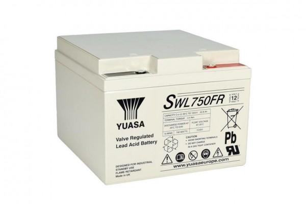 Yuasa SWL-EN Bleiakku SWL 750 FR