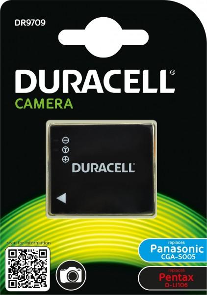 Duracell Digitalkamera und Camcorder Ersatzakku passend für CGA-S005