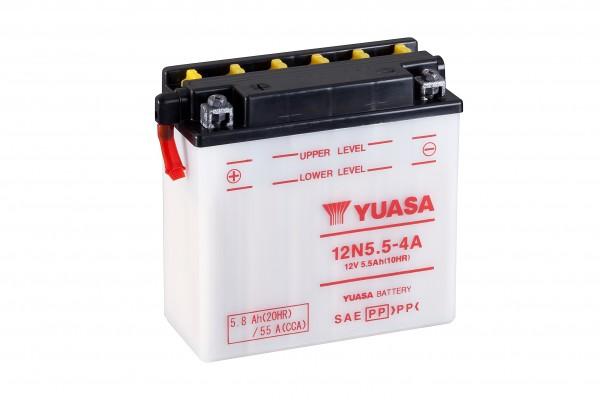 Yuasa Conventional 12 Volt 12N5.5-4A (DC)