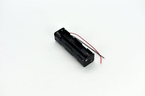 Batteriehalter mit Kabel für 8x AA (Vor-/Rückseite)