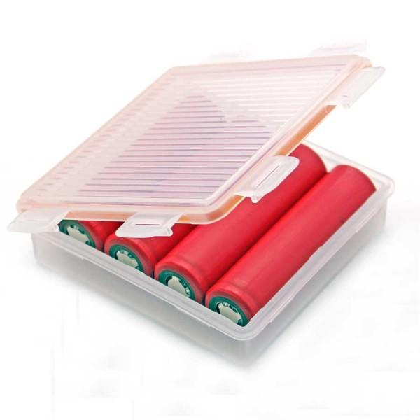 Soshine Batteriebox 4x 18650 Soshine SBC-W2, IP66 (L x B x H) 87 x 84 x 24 mm