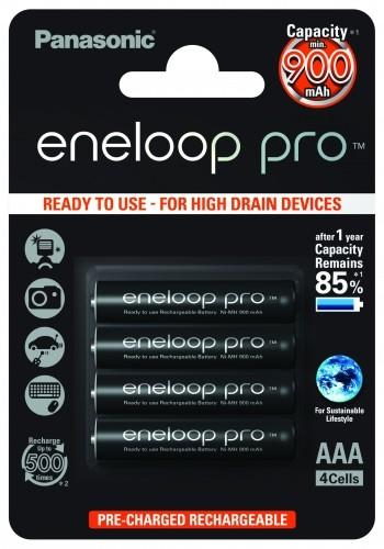 Panasonic eneloop pro 4HCCE AAA 4er Blister
