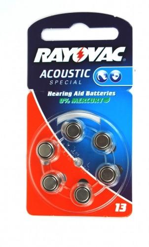 Rayovac Hörgeräte-Batterie 13AC